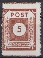 "MiNr. 42 D III, OPD ""Coswig"", Gepr. Ströh, Kl. Braune Flecken, ** - Sowjetische Zone (SBZ)"