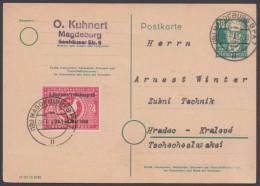 P 35/01, Bedarf  Ind Die CSR Mit Zusatzfr. 233 I - Sowjetische Zone (SBZ)
