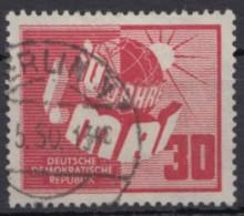 MiNr. 250, Sauberer Bedarfsstempel - DDR