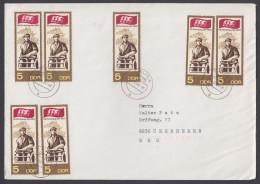 MiNr. 1268, MeF Mit 7 Werten, Brief In Die BRD - Briefe U. Dokumente