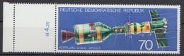 """MiNr. 12085 """"Sojus-Apollo"""", Mit Kplt. Leerfeld Links, ** - DDR"""