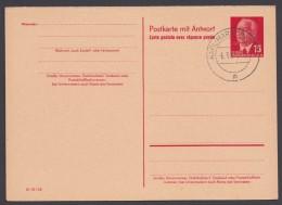 """P 65 A, Beide Teile Blanko """"Karl-Marx-Stadt"""", 6.3.65 - Postkarten - Gebraucht"""