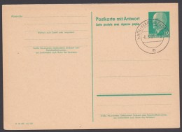 """P 73, Beide Teile Blanko """"Karl-Marx-Stadt"""", 6.3.65 - Postkarten - Gebraucht"""