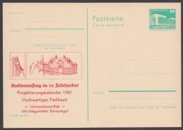 """P 84 C 153, """"Stadtvermessung"""", 1986, Ungebraucht - DDR"""
