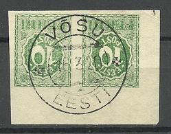 Estland Estonia 1919 Michel 8 O VÕSU - Estonia