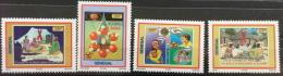 Sénégal 2004/2006 Lutte Contre Le Sida Fight Against AIDS 4 Val. RARE MNH - Senegal (1960-...)