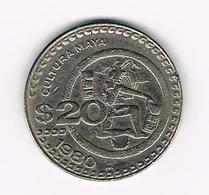 & MEXICO  20  PESOS    1980 - Mexico