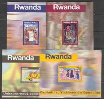 Génocide 1999  COB BL111/14 MNH-postfris-neuf - Rwanda