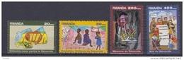 Génocide 1999 COB 1411/14 MNH-postfris-neuf - Rwanda