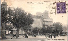 35 Saint MALO : Le Château - Saint Malo