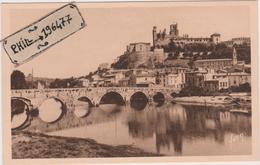 34 Béziers - Cpa / La Ville Vue Du Pont-Neuf. - Beziers