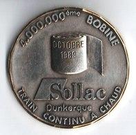 Sollac Dunkerque. 4 000 000 ème Bobine. Octobre 1989. Train Continu A Chaud. - Other