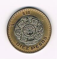 &  MEXICO  10  PESOS 2006  MO - Mexique