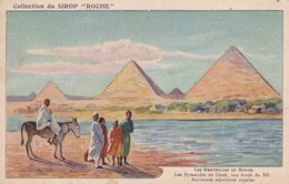 Chromo Sirop Roche - Les Pyramides De Giseh - Chromos