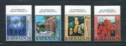 BARBADOS 2008 Mi # 1161 - 1164 CHRISTMAS SET Of 4 MNH - Barbados (1966-...)