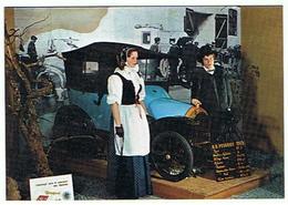 VOITURE LA  B B PEUGEOT DE 1913  BOUEBE ET DIAICHOTTE EN COSTUMES DE MONTBELIARD   **** RARE   A   SAISIR ***** - Cartes Postales