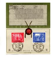 Carte Cachet Leipzig 1947 Foire - American,British And Russian Zone
