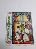 Timbre Nouvelle Calédonie N°724 Ordination Des Deux Premiers Prêtres Mélanésiens Oblitéré 1996 - Neukaledonien