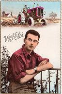 Vive Saint Eloi  - Homme Et Tracteur (104983) - Men