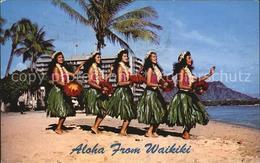 72510794 Waikiki Dancers Of Hawaii Waikiki Honolulu - United States