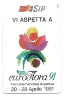 Italia - Tessera Telefonica Da 5.000 Lire N. 103 - Euroflora - Italy