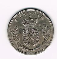 & DENEMARKEN  5 KRONER 1963 - Denmark