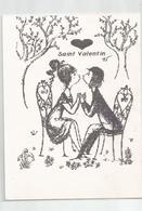 Peynet St Saint Valentin Couple Format Cpm - Peynet