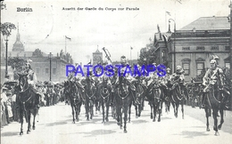 92888 GERMANY BERLIN RACE OF THE GARDE YOU CORPS TO PARADE POSTAL POSTCARD - Allemagne
