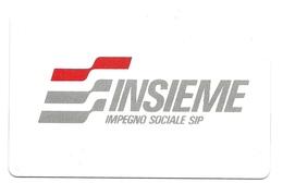 Italia - Tessera Telefonica Da 5.000 Lire N. 106 - Impegno Sociale - Italy