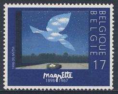 """Belgie Belgique Belgium 1998 Mi 2807 ** """"Le Retour"""" / """"The Return"""" - René Magritte (1898-1967) - Andere"""