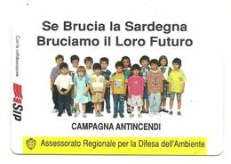 Italia - Tessera Telefonica Da 5.000 Lire N. 107 - Campagna Antiincendio - Italy