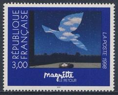 """France Rep. Française 1998 Mi 3284 ** """"Le Retour"""" / """"The Return"""" - René Magritte (1898-1967) - Andere"""