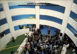 44 - NANTES - Inauguration Du Parking Place Du Commerce - 1988 - Nantes