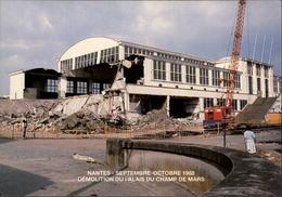 44 - NANTES - Démolition Du Palais Du Champ De Mars - 1988 - Nantes