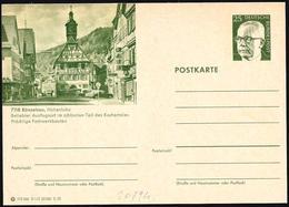 Germania/Allemagne/Germany: Intero, Stationery, Entier, Torre Dell'orologio, Tour De L'horloge, Clock Tower - Orologeria