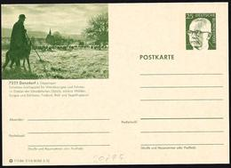 Germania/Allemagne/Germany: Intero, Stationery, Entier, Gregge Di Pecore E Pastore, Flock Of Sheep And Shepherd, - Otros