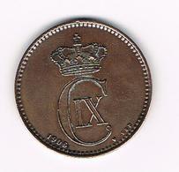 &  DENEMARKEN  5 ORE  1906 VBP - Denmark