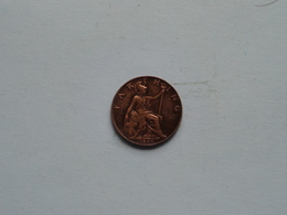 1898 - 1 Farthing / KM 788.2 ( For Grade, Please See Photo ) ! - 1816-1901 : Frappes XIX° S.