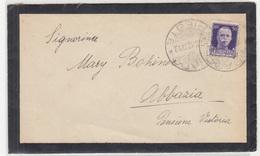 Italy Letter Cover Travelled 1942 Grado To Abbazia D B180420 - 1900-44 Vittorio Emanuele III