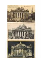 BRUSSEL  BRUXELLES Lot De 115 Cartes Bourse  Lot 115 Kaarten Beursgebouw - 100 - 499 Karten