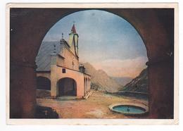 Italie Piemonte Cuneo Santuario S. Anna Di Vinadio En 1953 Voiture Marque ? - Cuneo