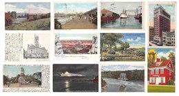 51 Cards Of USA United States Of America : Philadelphia Seattle Brooklyn Lakewood  Niagara Etc. Etats Unis - Etats-Unis