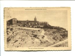 CP - ROCHEFORT (30)  NOTRE DAME DE ROCHEFORT VUE DE LA SAINTE MONTAGNE - Rochefort-du-Gard