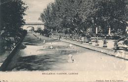 LAHORE / India (Pakistan) - 1910 , Shalamar Garden - Pakistan