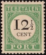 ~~ Curacao 1892/1898  - Port Postage Due - Type II - NVPH  P14  ** MNH - Most Scarce Type - CV 30.00+300% ~~~ - Curaçao, Nederlandse Antillen, Aruba