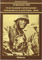 Bataille Des Ardennes   18 Décembre 1944 - War 1939-45