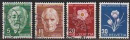 Schweiz 1945 MiNr. 465 - 468  O Gest. Pro Juventute ( 6095 ) Günstige Versandkosten - Switzerland