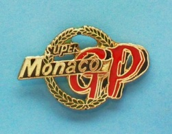 PIN'S //   ** SUPER GP / MONACO ** - Automobile - F1