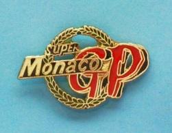PIN'S //   ** SUPER GP / MONACO ** - Car Racing - F1