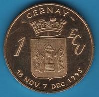 CERNAY 1 ECU 1995 LA PORTE DE THANN - Euros Of The Cities